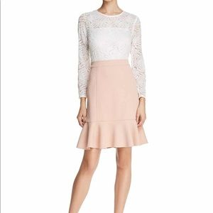 NWT Nanette Lepore Savannah Rose Marshmallow dress